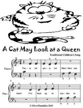 A Cat May Look At a Queen - Beginner Piano Sheet Music Tadpole Edition