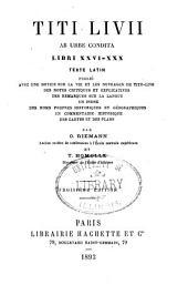 Titi Livii Ab urbe condita libri XXI, XXII: Texte latin publié avec une notice sur la vie et les ouvrages de Tite-Live, Volume3