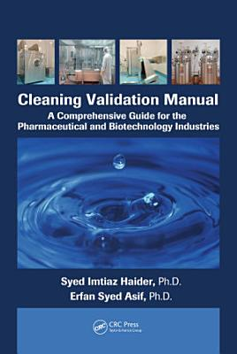 Cleaning Validation Manual