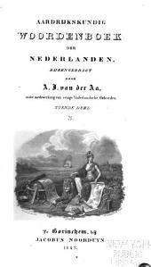 Aardrijkskundig woordenboek der Nederlanden: Volume 10