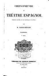 Chefs-d'oeuvre du théâtre espagnol: Volume3