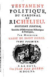 Testament politique, du Cardinal de Richelieu