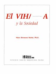 Glencoe Health A Guide To Wellness Spanish Resources El Vihisida Y La Sociedad Module Book PDF