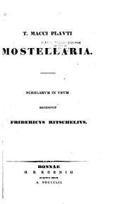T. Macci Plauti Mostellaria