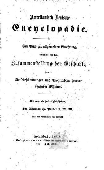 Amerikanisch deutsche encyclop  die PDF
