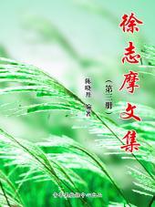 徐志摩文集(3册)(选题报告1)