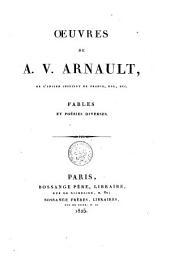 Oeuvres de A. V. Arnault: Volume4