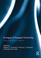 Ecologies of Engaged Scholarship PDF