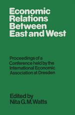 Economic Relations between East and West