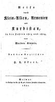 Reise durch Klein Asien  Armenien und Kurdistan in den Jahren 1813 und 1814 PDF