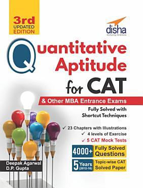 Quantitative Aptitude for CAT   other MBA Entrance Exams 3rd Edition PDF