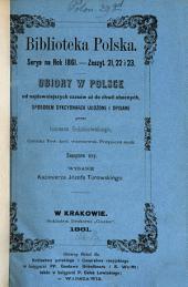 Ubiory w Polsce: od najdawniejszych czasów aż do chwil obecnych