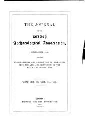Journal of the British Archaeological Association: Volume 1