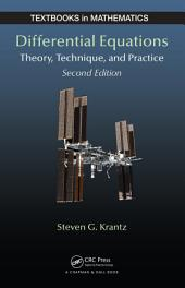 Differential Equations: Theory, Technique and Practice, Second Edition, Edition 2