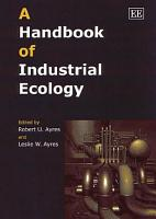 A Handbook of Industrial Ecology PDF