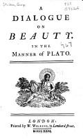 A Dialogue on Beauty PDF