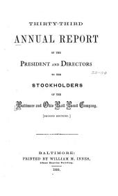 Annual Report: Volumes 33-34