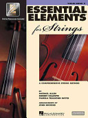 Essential Elements for Strings Book