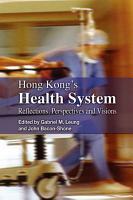 Hong Kong s Health System PDF