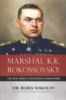 Marshal K K  Rokossovsky PDF