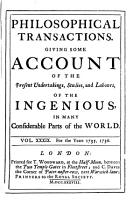 Philosophical Transactions  Giving Some Account of the Present Undertakings  Studies  and Labours of the Ingenious  in Many Considerable Parts of the World PDF