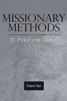 Missionary Methods  St  Paul s or Ours  PDF