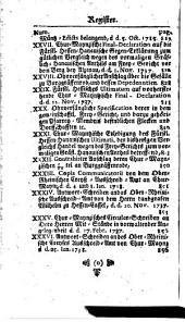 Europäische Staats-Cantzley: darinnen zum Behuff der neuesten politischen-, Kirchen- und Reichshistorie was sowohl in Religions-Angelegenheiten merckwürdiges vorgefallen als in Staats- und Reichs-Geschäfften vor kurztem abgehandelt worden und zum Vorschein gekommen ist, Band 74