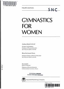 Gymnastics for Women PDF