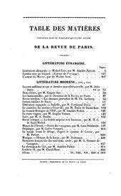 Revue de Paris: Volumes 54 à 55