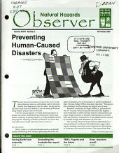 Natural Hazards Observer PDF
