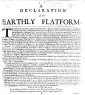 A Declaration of the Earthly Flatform. [Written to accompany a dialling instrument. By Edmund Halley?]