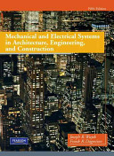 Mechanical and Electrical Systems in Architecture  Engineering  and Construction PDF
