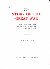 The Story of the Great War ...