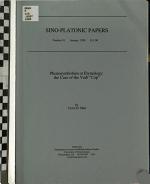 Phonosymbolism Or Etymology PDF