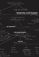 Inventing Film Studies PDF