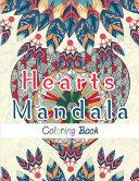 Hearts Mandala Coloring Book