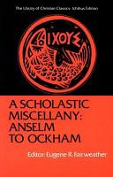 A Scholastic Miscellany PDF