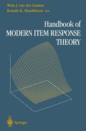 Handbook of Modern Item Response Theory