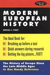 Schaum's Outline of Modern European History