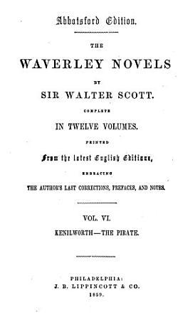 The Waverley Novels  Kenilworth  The pirate PDF