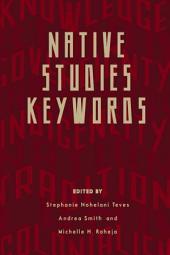 Native Studies Keywords