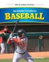 An Insider s Guide to Baseball PDF