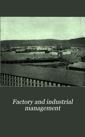 Factory and Industrial Management: Volume 27