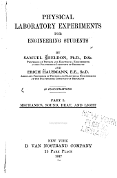 Physical laboratory experiments for engineering students