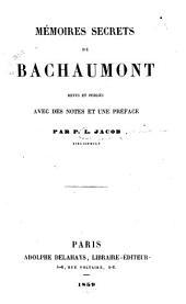 Mémoires secrets de Bachaumont