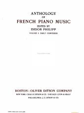 Anthology of French piano music PDF