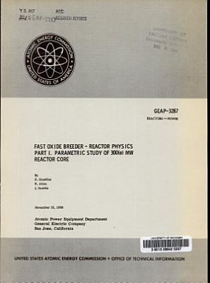 Fast Oxide Breeder   Reactor Physics PDF