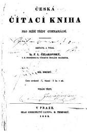 Česká čitací kniha pro nižší třídy gymnasiální: Díl 2