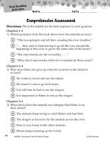 My Father s Dragon Comprehension Assessment PDF