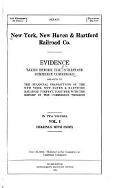 New York, New Haven & Hartford Railroad Co: Volume 1